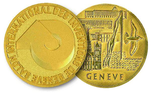 medalla de otro en el salon de invenciones de ginebra